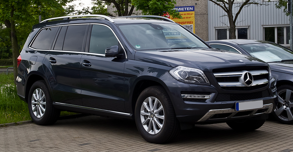 Business travel Mercedes-Benz GLS