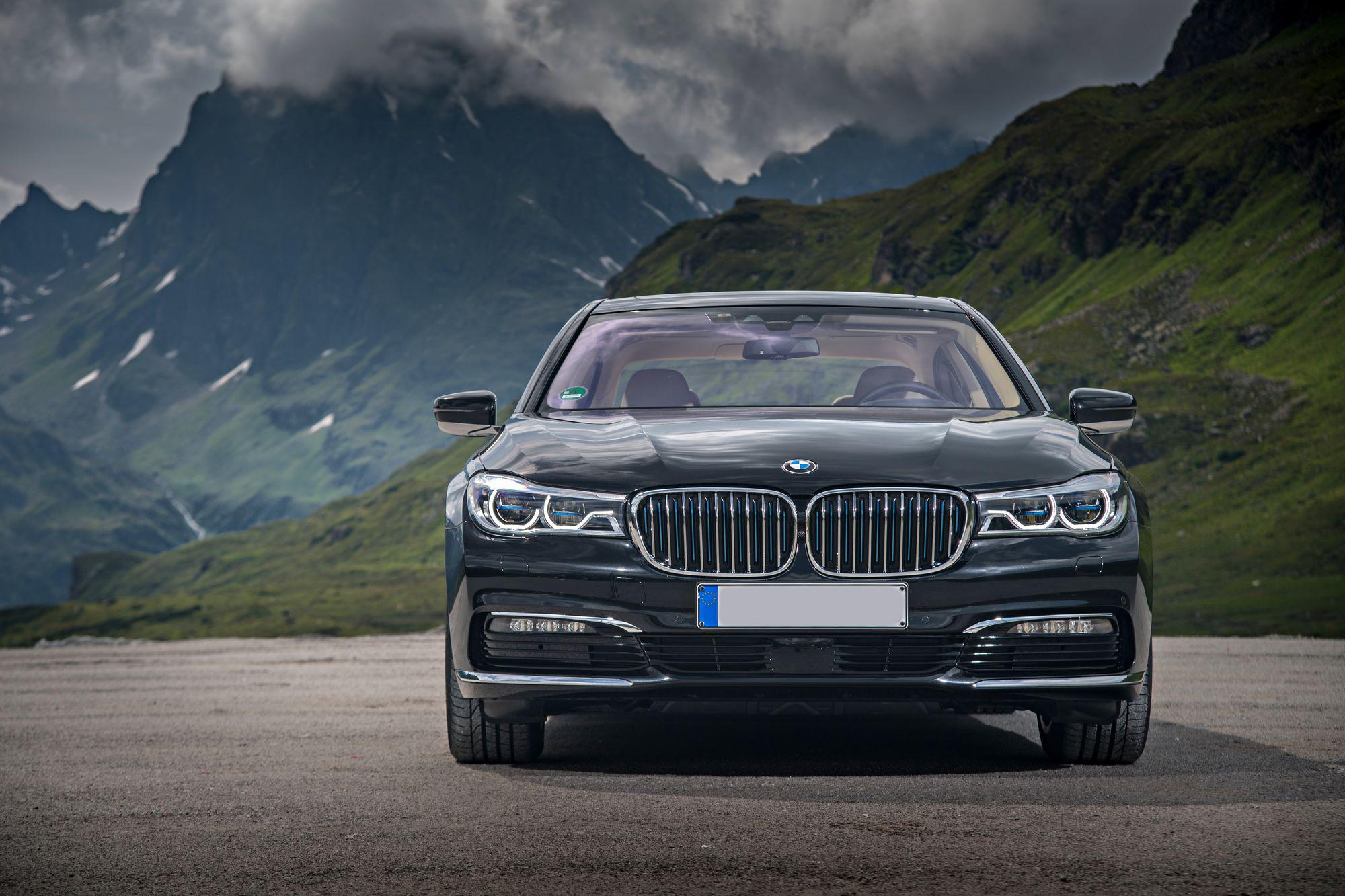 Zakelijk vervoer BMW 7-Serie